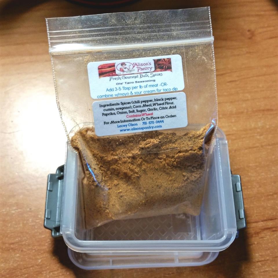 Spice sample