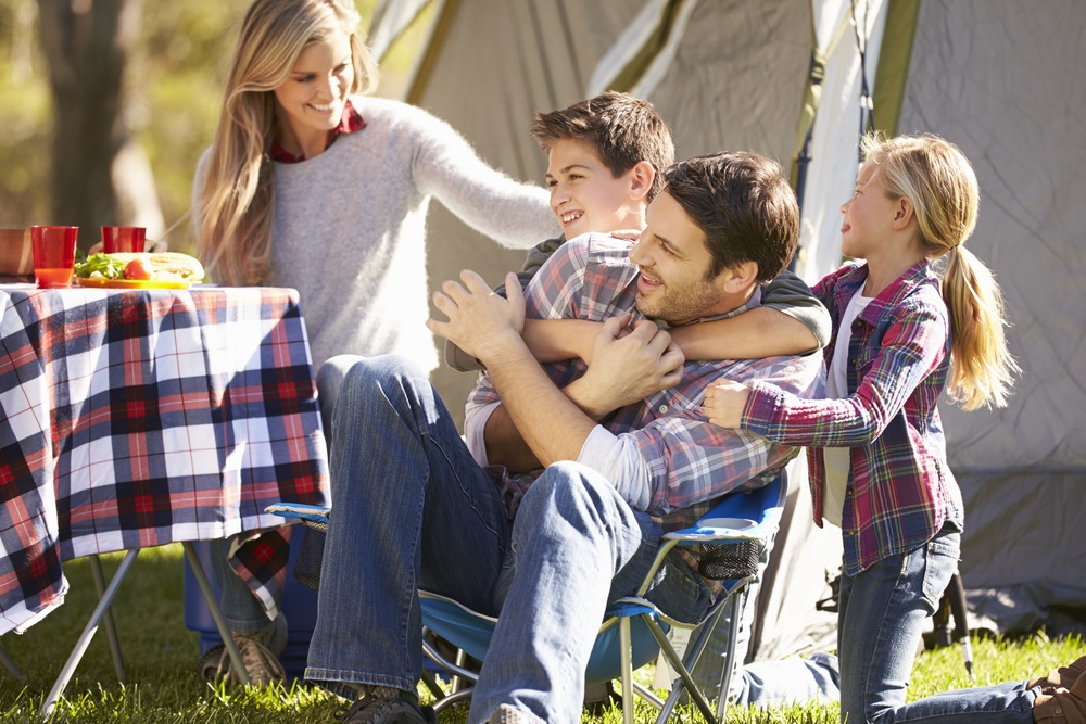 family camping shutterstock_181241993
