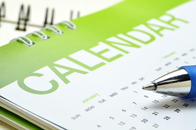 calendar shutterstock_228543910