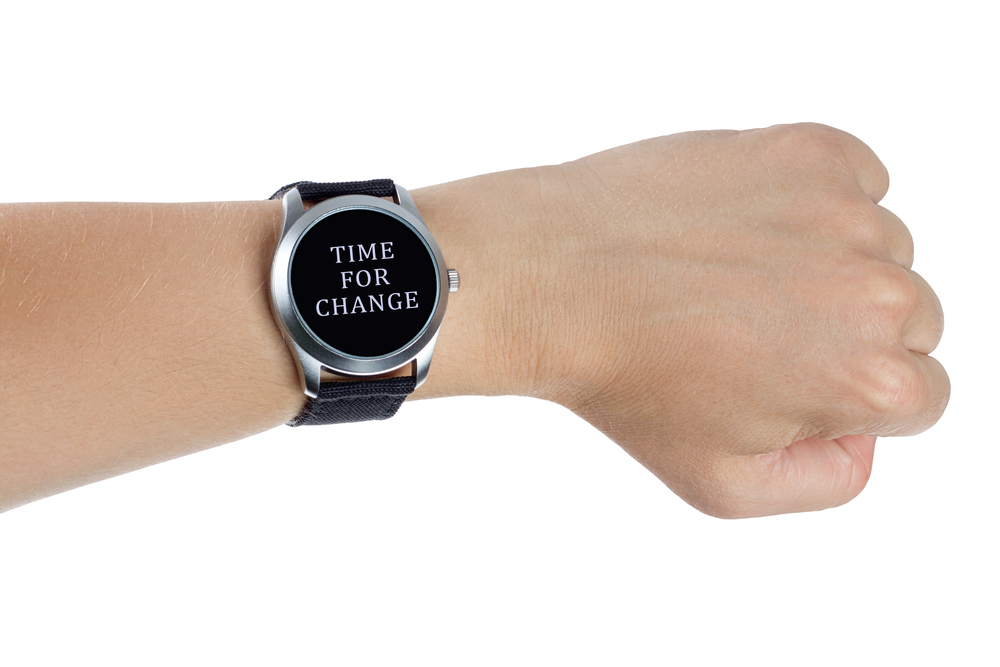 Time for Change shutterstock_149819738