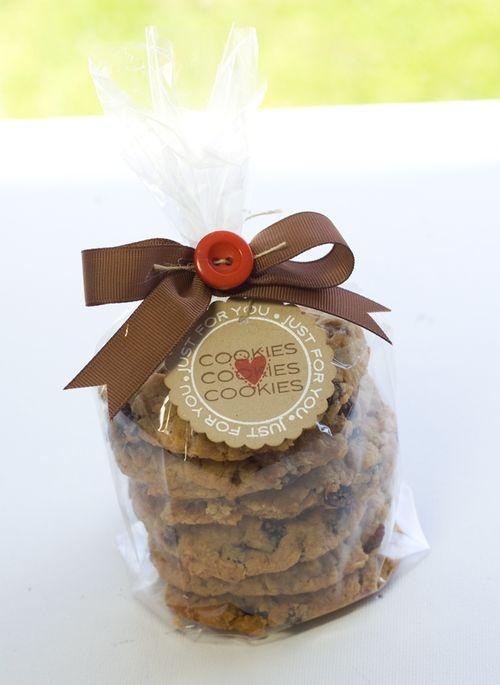 celophane cookies