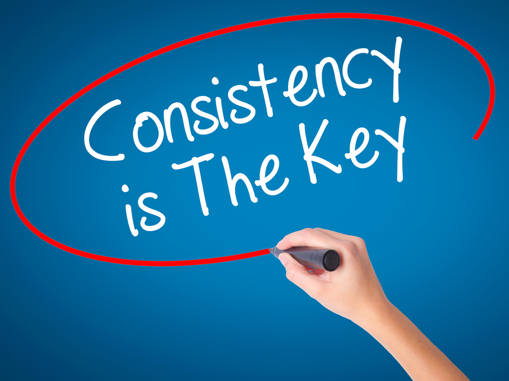 conistency-is-the-key
